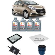 Kit Troca De Óleo Hyundai Hb 20 1.0 2012 Em Diante