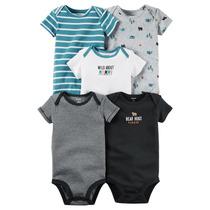 Set Body Carters X5 Pzas Para Bebe Niño Ropa Carter Original