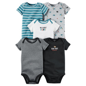 Set Body Carters X5 Pzas Para Bebe Niño Ropa Carter Original
