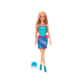 Barbie Fashion And Beauty Com Anel Azul