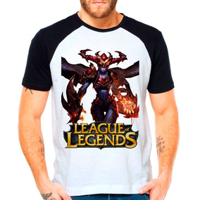 Camiseta Raglan League Of Legends Shyvana Lol Jungler C