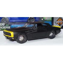 1:24 Chevrolet Camaro 1967 Negro M Jada Toys Big Time Muscle