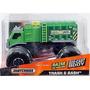Camion De Basura Tipo Monstruo De Matchbox - Mattel
