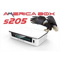 Kit Tv Satelital America Box205 Acm 4k+lnb+soporte+satfinder