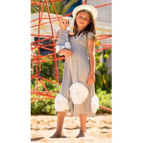 American Girl Set De Ropa Selfieme, Adorable Grey - Talla S