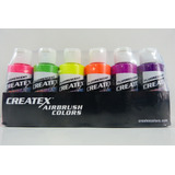 Set De Pinturas Createx Colors 2 Oz 60 Ml Aerografia