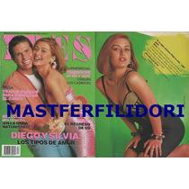 Diego & Silvia Timbiriche Revista Eres 92 Thalia Sasha Sokol
