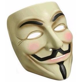 Máscara V De Vingança Anonymous Vendetta Guy Fawkes