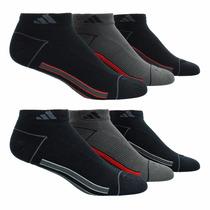Calcetines Para Caballero Adidas 6 Pares Estilo 949985 Negro