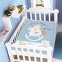 Cobertor Jolitex Infantil Berço Bebê Raschel Cavalinho