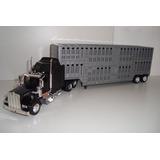 Miniatura Caminhão Kenworth W900 Boiadeiro Esc. 1/43 Newray