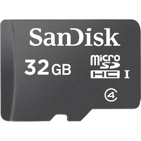 Sandisk Memoria Micro Sd Hc 32gb Clase 4 Sin-adap Sd Sdsdqm
