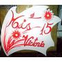 Cartel Flor Margarita 15años Bodas Aniversaros Fiestas
