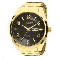 Relógio Technos Masculino Automático 8205ni/4p Original + Nf