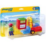 Playmobil Linea 1.2.3 Modelo 6959 Autoelevador Local Envios