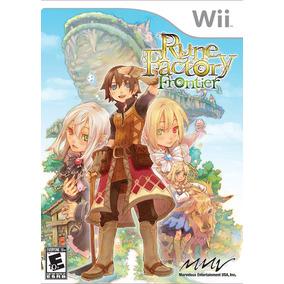 Rune Factory Frontier - Wii - Lacrado - Nota Fiscal