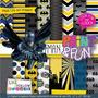 27 Itens Kit Digital Editavel Scrapbook Batman Pra Arte