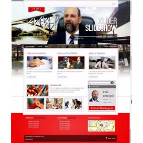 Site Para Politicos Vereadores Deputados 2016 Administravel