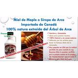 Miel De Maple, Sirope De Savia Maple Syrup Y Pimienta Cayena