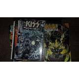 Cómics Kiss Psycho Circus + Lp Gene Simmons