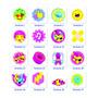 Logo Soy Luna Paquete Iconos Simbolos Para Decorar