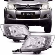 Juego Optica Toyota Hilux 2012 2013 2014 2015 Original