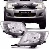 Juego Optica Toyota Hilux 2012 2013 2014 2015