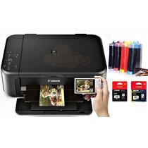 Impresora Canon Mg 3620 + Sistema De Tinta Continua, Wifi