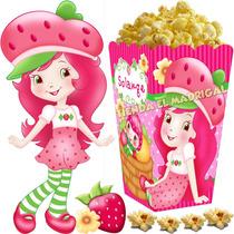 Kit Imprimible Frutillita Golosinas Candy Bar Y Cotillon 2x1