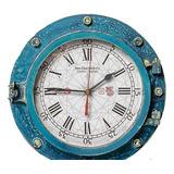 Relógio Escotilha Decorativo Horário (28cm)