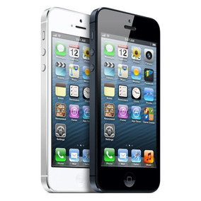 Iphone 5 16gb 100% Desbloqueado Negro-blanco Oportunidad !!!