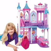 Castelo Palácio Casa Boneca Barbie - 3 Andares Completa