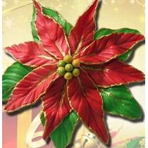 Frisador De Flor Eva, Folha De Lírio , Flor De Natal