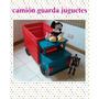 Baul De Madera Guarda Zapatos/ Juguetes Camion Infantil