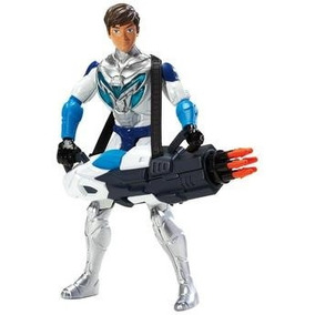 Boneco Max Steel - Max Disparador Giratório Y1521 - Mattel