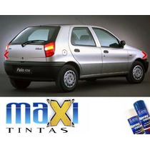 Tintas Spray Automotiva Fiat Cinza Steel + Spray Verniz