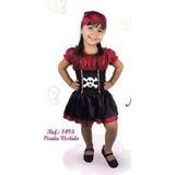 Vestido Fantasia Pirata Menina / Carnaval