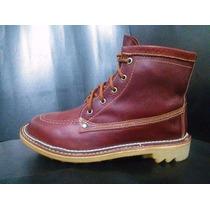 Botin Tipo Frazzani, Botines Y Zapatos De Cuero, Caña Corta