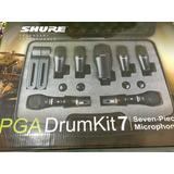 Kit Microfone Bateria Shure Pga Drum Kit 7 Custo Ben Frete G