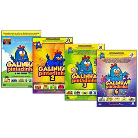 Coleção Galinha Pintadinha Completa 6 Dvds + Frete Grátis !!