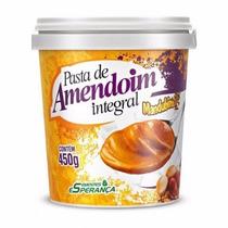 Pasta Integral De Amendoim Sem Açúcar - Pote De 450g