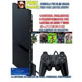 Ps2 Slim+lector Nuevo+10.juegos Nuevos Fenix Games Dx