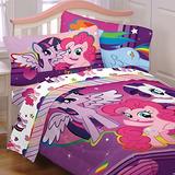 Mi Pequeño Pony 5pc Completa Edredón Y La Hoja Sábana Rosa
