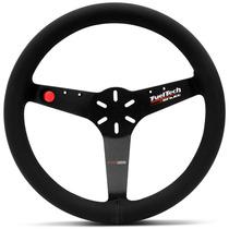 Volante Esportivo Shutt Ftr Fueltech Universal Preto S/ Cubo