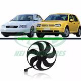 Ventoinha Motor Helice Golf / Audi / Fox / Bora / Polo 7 Pás