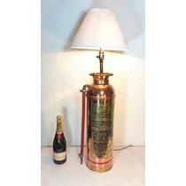 Extinguidor / Extintor Antiguo, Años 50´s,colección Vintage