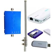 Internet Portatil 3g Router Booster Bam Telcel P/ Vacaciones