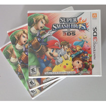 Super Smash Bros 3ds - Nintendo 3ds - Lacrado