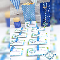 Salve Regina Souvenirs Infantiles Confirmación Nene