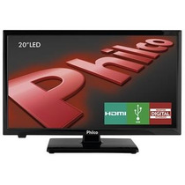 Tv 20 Led Hd Ph20u21d, 2 Hdmi, Dtv, Som Surround - Philco
